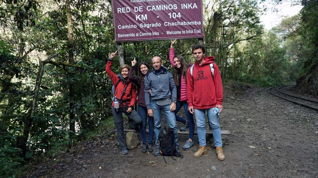 2 day inca trail to machu picchu. star of trek