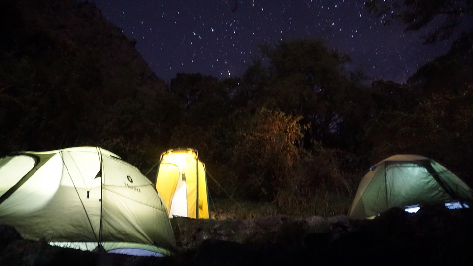 Inca Trail at night - Glamping Tours of Kenko Adventures