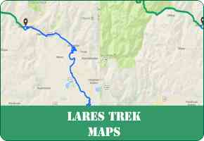Lares Trek Maps