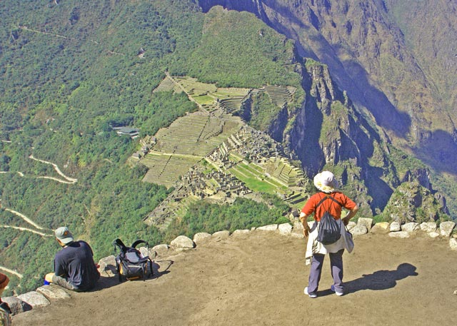 Machu Picchu view from Huayna Picchu