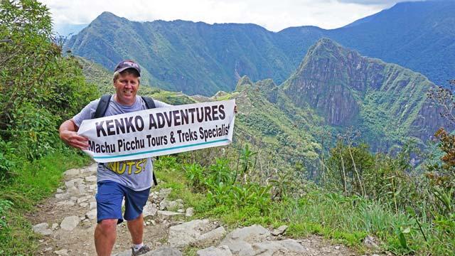 Machu Picchu view from Sungate - Machu Picchu Hiking Tours