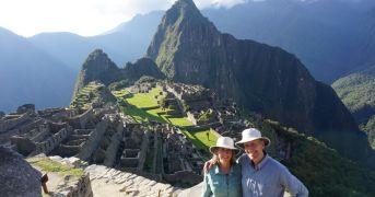 Machu Picchu tour on Lares Trek