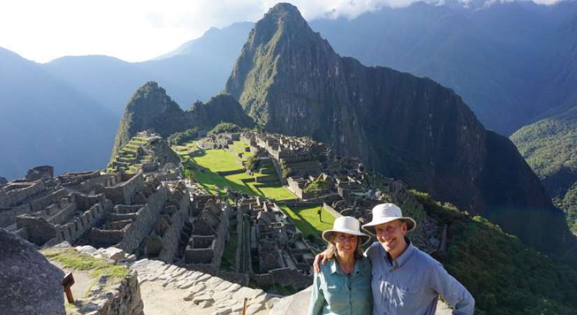 Machu Picchu tour on Lares Trek