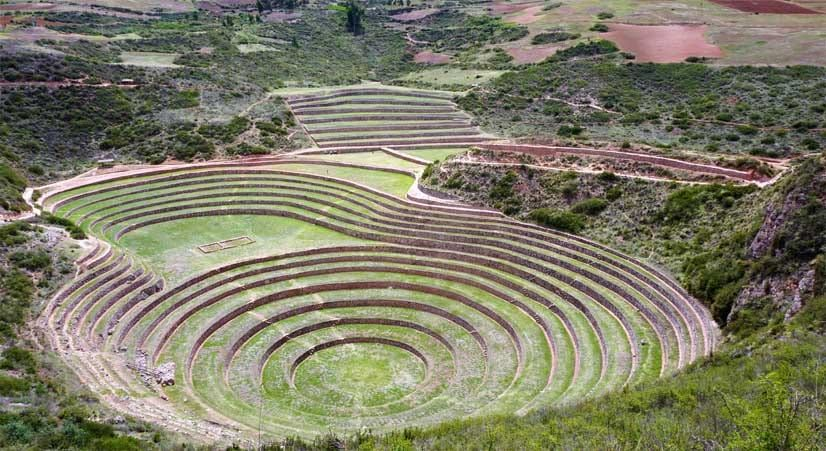 Moray inca agriculture experimentation place