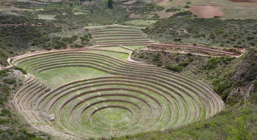 moray inca experimentation place Machu Picchu 2 Day Hike + Sacred Valley + Inca Bridge