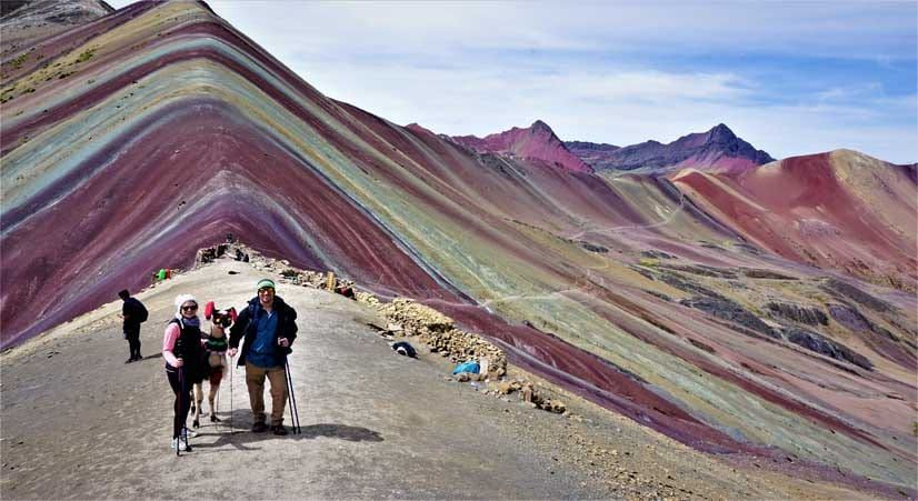 perfect picture of rainbow mountain by kenko adventures