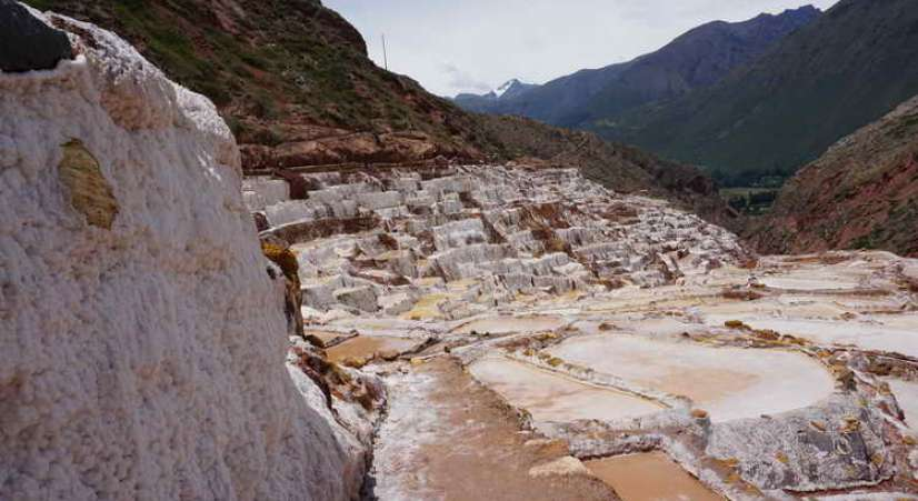 salt mines  Machu Picchu 2 Day Hike + Sacred Valley + Inca Bridge