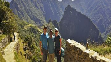 Arriving to Machu Picchu in the Inca Trail 2 Day tour