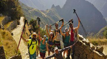 Inti Punku - Arriving to Machu Picchu in the Inca Trail 2 Day tour