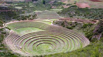 Moray inca agriculture experimentation place